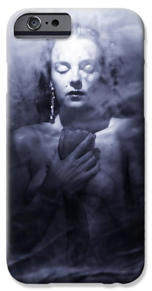 Ghost Woman IPhone Case by Scott Sawyer
