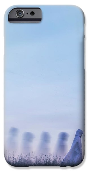 Ghosts IPhone Case by Joana Kruse