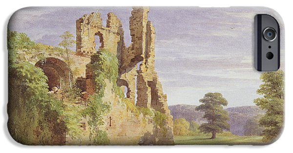 Gight Castle, 1851 IPhone Case by James Giles