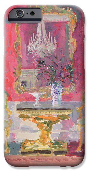 Gilded Mirror IPhone Case by William Ireland
