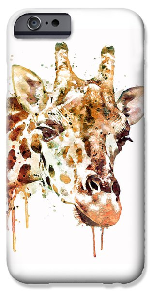 Giraffe Head IPhone 6s Case by Marian Voicu