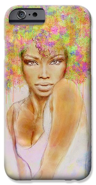 Girl With New Hair Style IPhone 6s Case by Lilia D