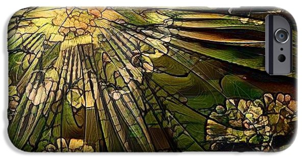 Glass Marigold IPhone Case by Amanda Moore