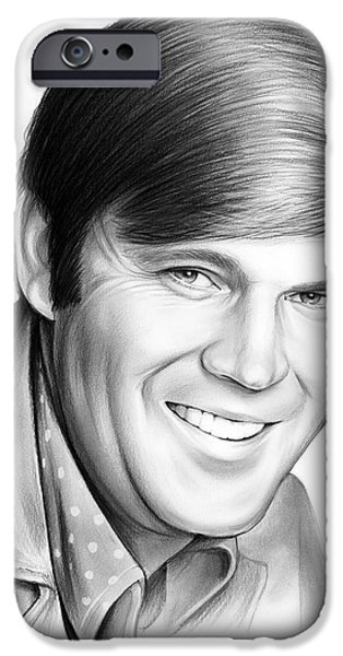 Glen Campbell IPhone Case by Greg Joens