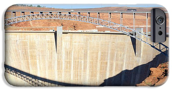 Glen Canyon Dam, Page, Arizona IPhone Case by Panoramic Images