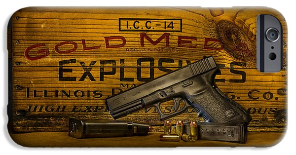Glock Still Life IPhone 6s Case by Paul Freidlund