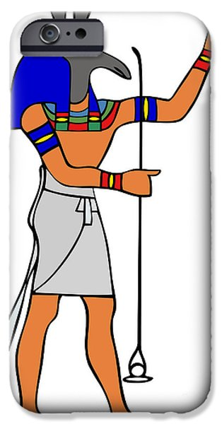 God Of Ancient Egypt - Seth IPhone Case by Michal Boubin
