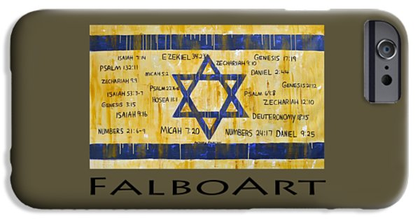 Gods Love For Israil IPhone Case by Anthony Falbo