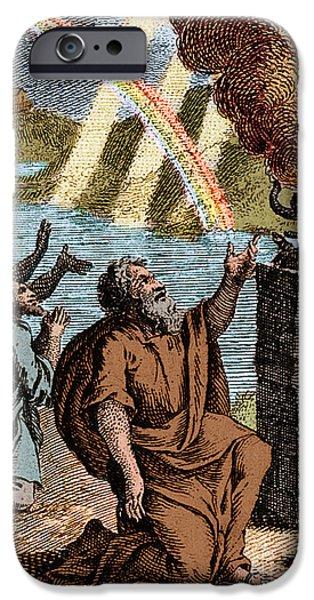Gods Rainbow Answers Noahs Sacrifice IPhone 6s Case by Science Source
