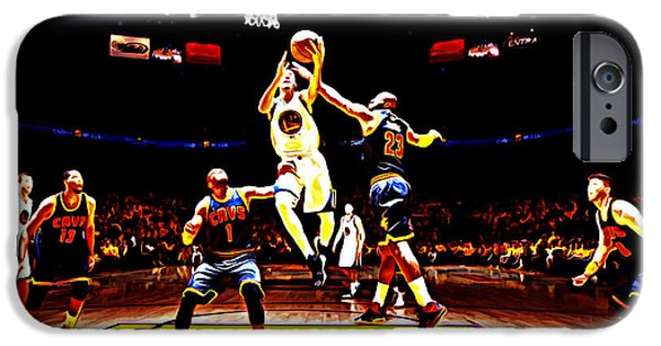 Golden State Warriors Shaun Livingston IPhone Case by Brian Reaves