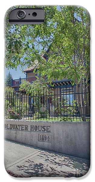 Goldwater House 1894 IPhone Case by Anne Rodkin