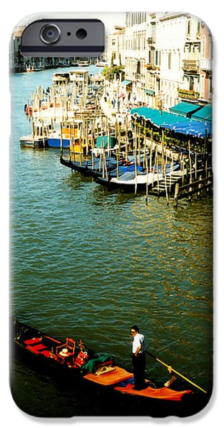 Gondola In Venice Italy IPhone 6s Case by Michelle Calkins