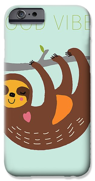 Good Vibes IPhone Case by Nicole Wilson