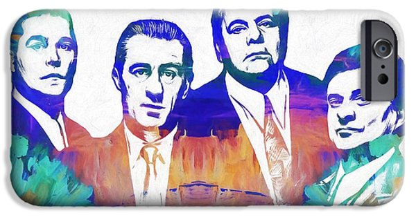 Goodfellas Watercolor IPhone Case by Dan Sproul