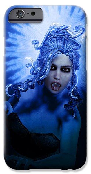 Gorgon Blue IPhone 6s Case by Joaquin Abella