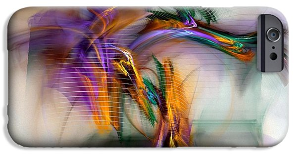 Graffiti - Fractal Art IPhone Case by NirvanaBlues