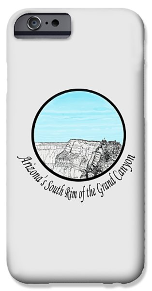 Grand Canyon - South Rim IPhone Case by James Lewis Hamilton