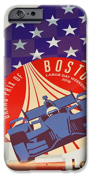 Grand Prix Of Boston IPhone Case by Mike Martin