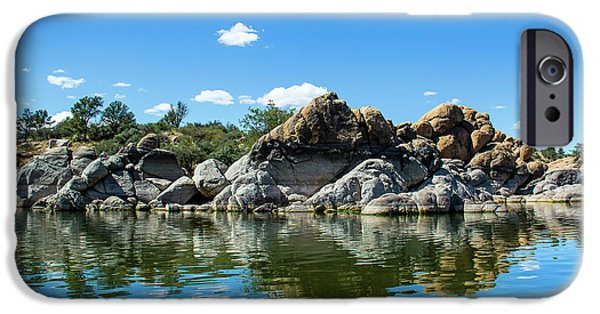 Granite Dells At Watson Lake IPhone Case by Amy Sorvillo
