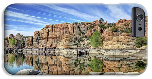 Granite Dells At Watson Lake IPhone Case by Donna Kennedy