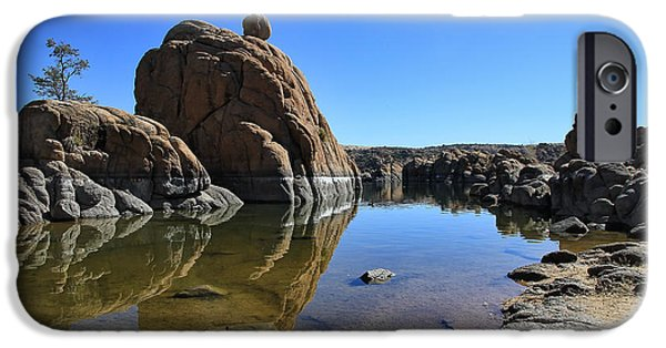 Granite Dells II IPhone Case by Teresa Zieba