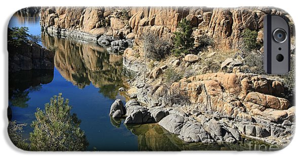 Granite Dells IPhone Case by Teresa Zieba