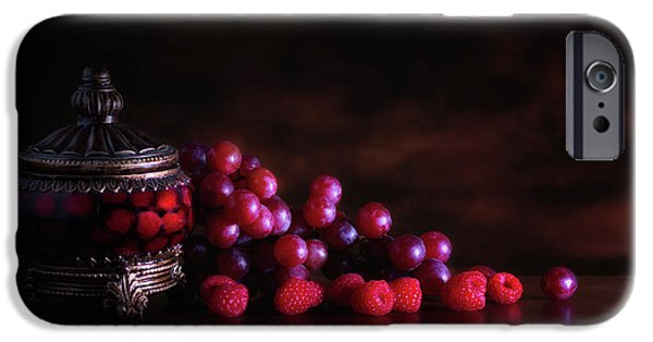 Grape Raspberry IPhone Case by Tom Mc Nemar