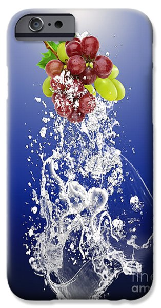 Grape Splash IPhone 6s Case by Marvin Blaine