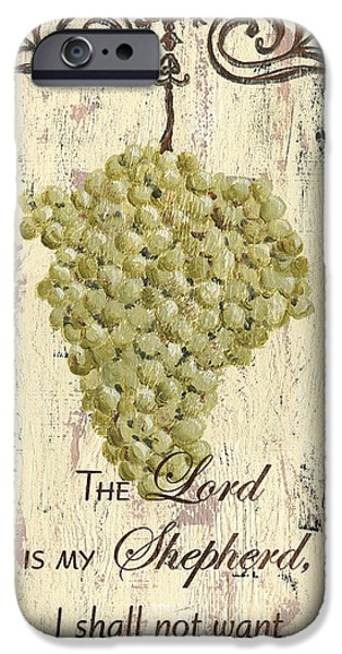 Grapes And Grace 2 IPhone Case by Debbie DeWitt