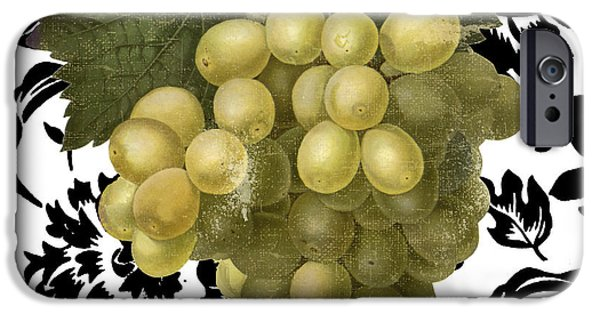 Grapes Suzette II IPhone Case by Mindy Sommers