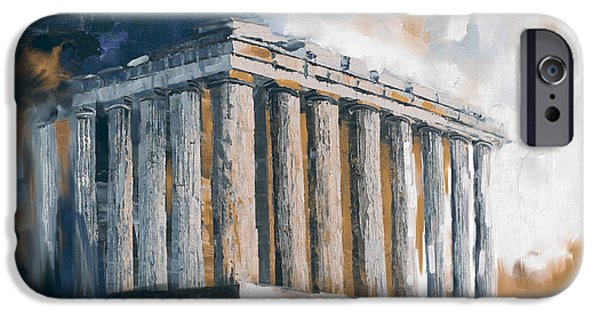 Greece Acropolis 169 3  IPhone Case by Mawra Tahreem