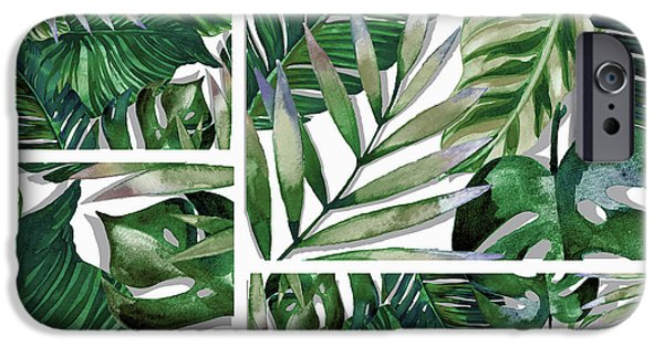 Green Life IPhone Case by Mark Ashkenazi