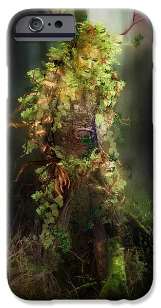 Greenman IPhone Case by Mary Hood