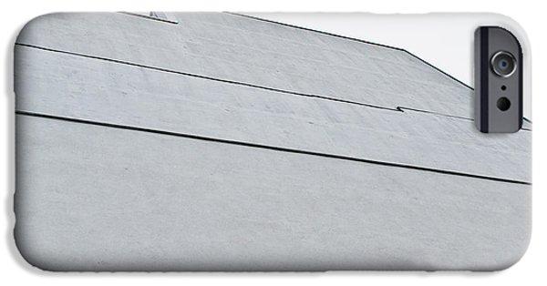 Grey Wall IPhone Case by Tom Gowanlock