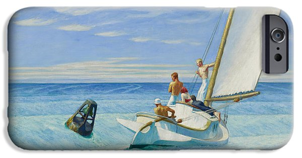 Ground Swell IPhone Case by Edward Hopper