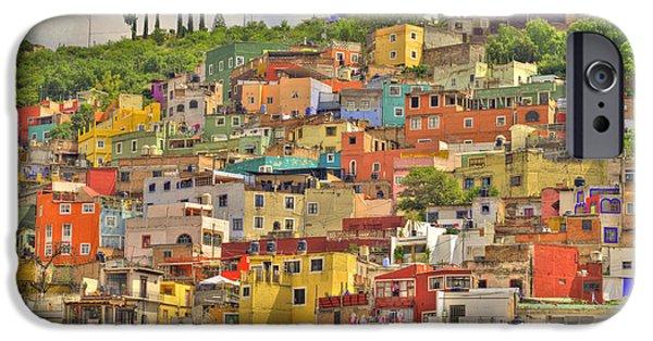 Guanajuato Hillside IPhone Case by Juli Scalzi
