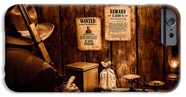 Guarding The Payroll - Sepia IPhone 6s Case by Olivier Le Queinec
