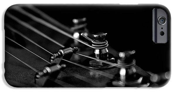 Guitar Close Up 1 IPhone Case by Stelios Kleanthous