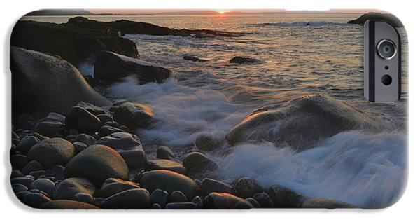Gulf Of Maine Sunrise IPhone Case by Stephen  Vecchiotti