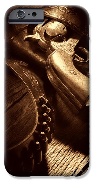 Gunslinger Tool IPhone 6s Case by American West Legend By Olivier Le Queinec