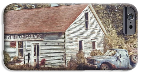 Gus Klenke Garage IPhone Case by Scott Norris