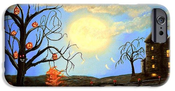 Halloween Night Two IPhone Case by Ken Figurski