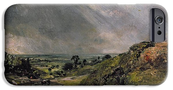 Hampstead Heath IPhone Case by John Constable