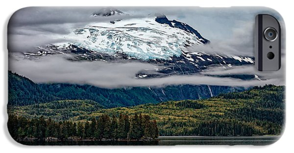 Hanging Glacier IPhone Case by Rick Berk