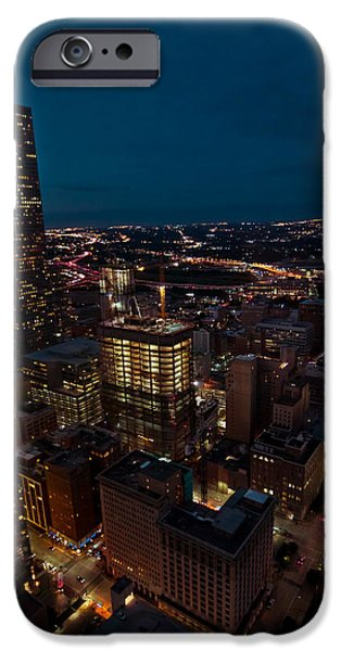Happiness On The 45th Floor IPhone Case by Linda Unger