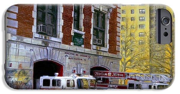 Harlem Hilton IPhone 6s Case by Paul Walsh