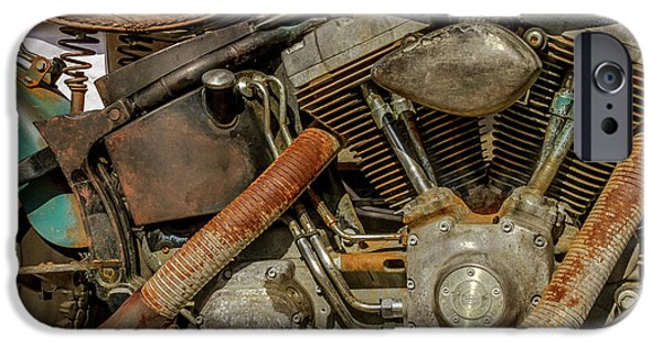 Harley Davidson - An American Icon IPhone Case by Bill Gallagher