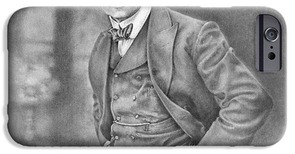 Harry Houdini IPhone Case by Steven Paul Carlson