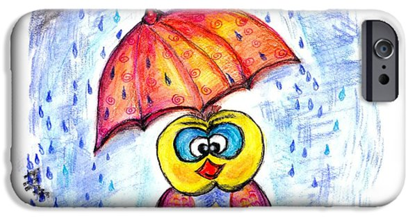 Has It Stopped Raining Yet?  IPhone Case by Ramona Matei