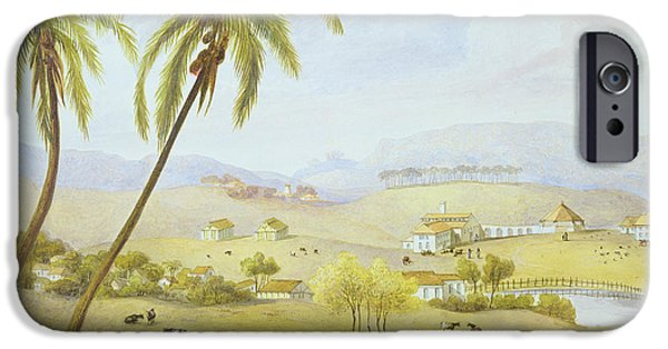Haughton Court - Hanover Jamaica IPhone Case by James Hakewill